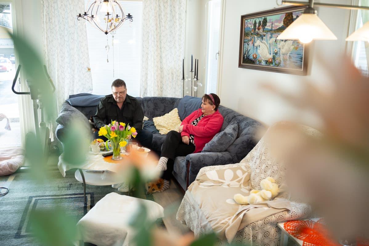 Juha ja Heli Tuikka.