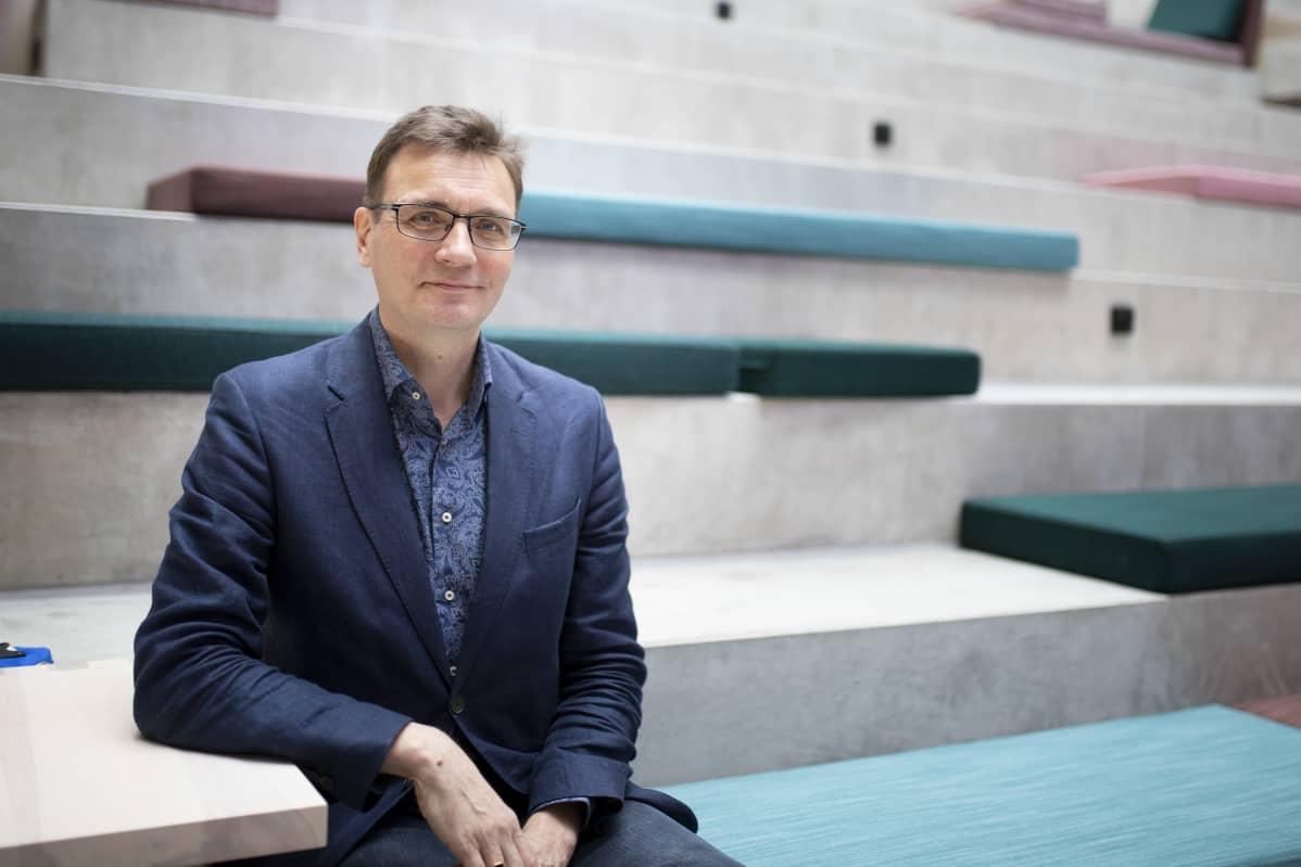 Turun ammattikorkeakoulun rehtori Vesa Taatila