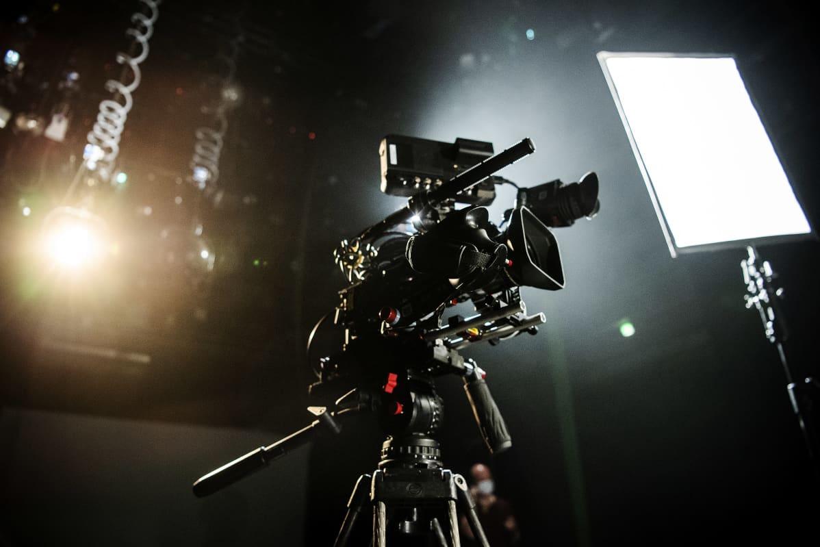 Kamera studiossa