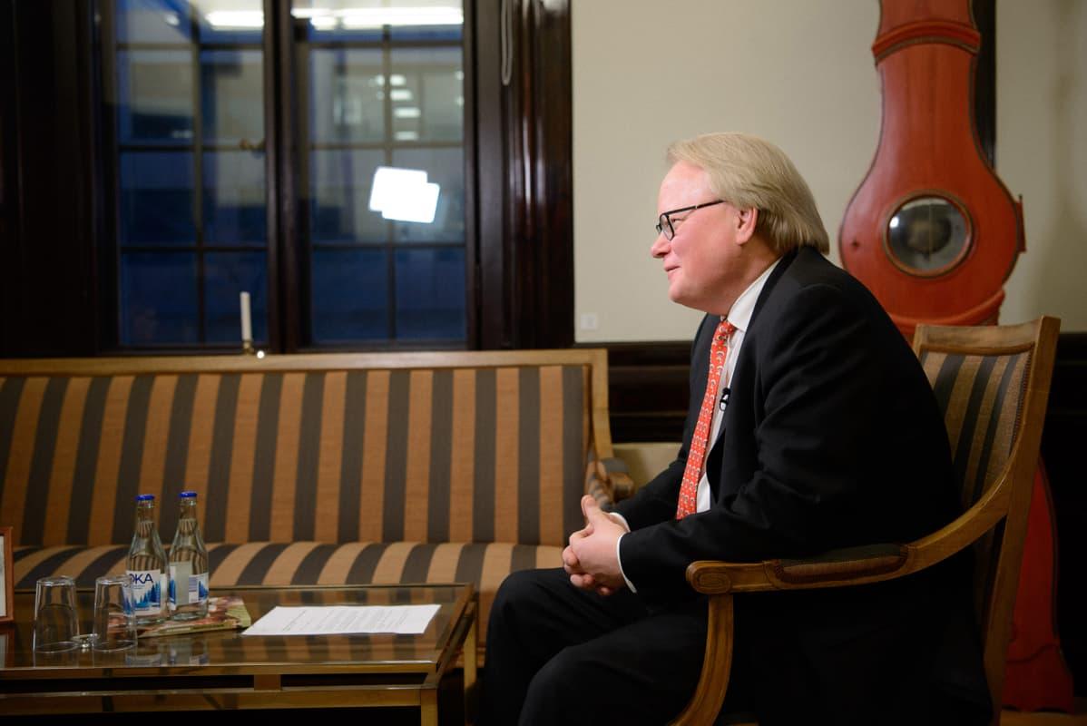 Puolustusministeri Peter Hultqvist.