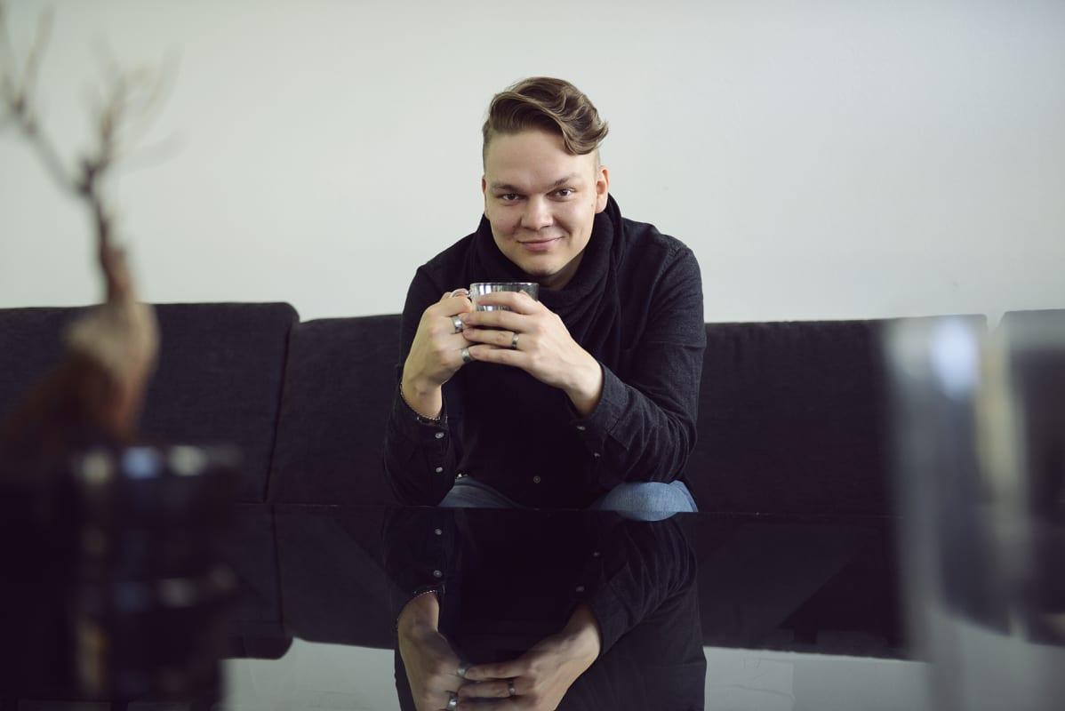 Kasarmi ry:n perustajajäsen Antti Laitinen sai vuoden 2020 Nuori Yrittäjä -palkinnon Kuopiossa.