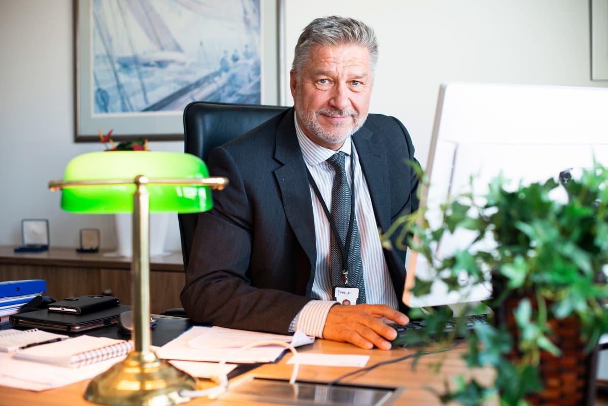 Poliisihallituksen teknologiajohtaja Jyrki Wasastjerna.