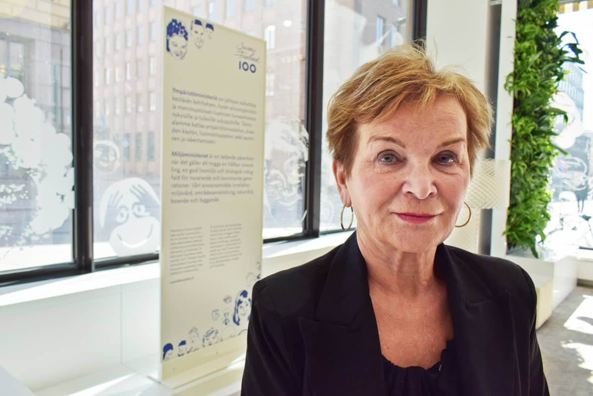 Hannele Pokka, ympäristöministeriön kansliapäällikkö.
