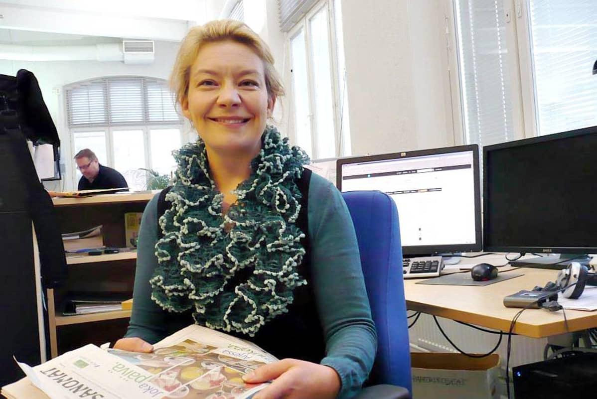 Kouluttaja ja tietokirjailija Katleena Kortesuo