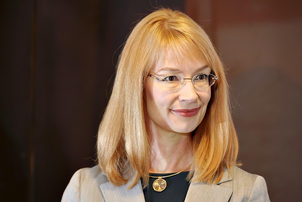 SDP:n vaalipäällikkö Tytti Tuppurainen.
