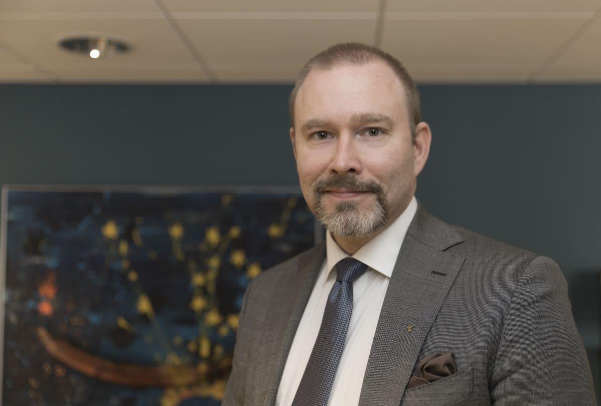 Pienyrittäjät / Työmarkkinajohtaja Janne Makkula / Yrittäjät / 12.04.2018