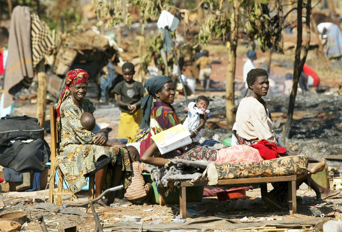 Zimbabve Harare katukuvaa.