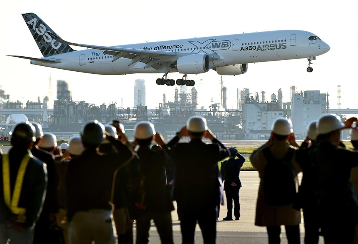 Airbus A350 XWB.