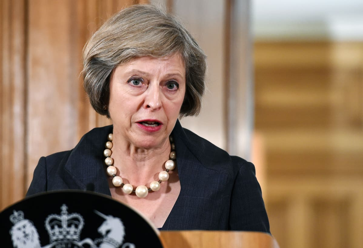 Britannian pääministeri Theresa May