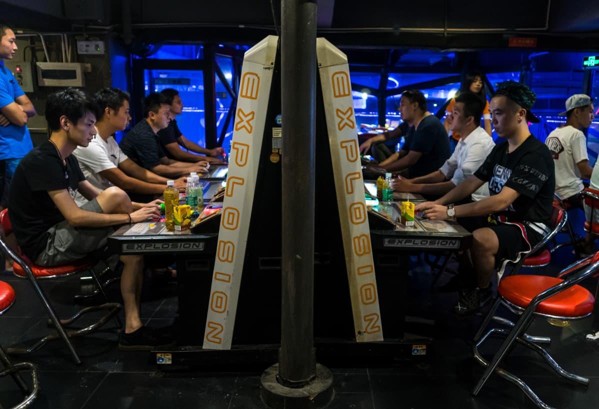 Shenzhenissä sijaitseva videopelikeskus
