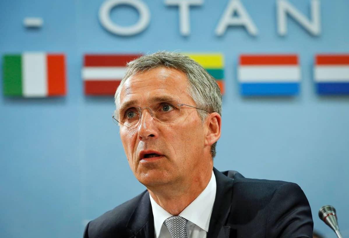 Naton pääsihteeri Jens Stoltenberg 28. heinäkuuta.