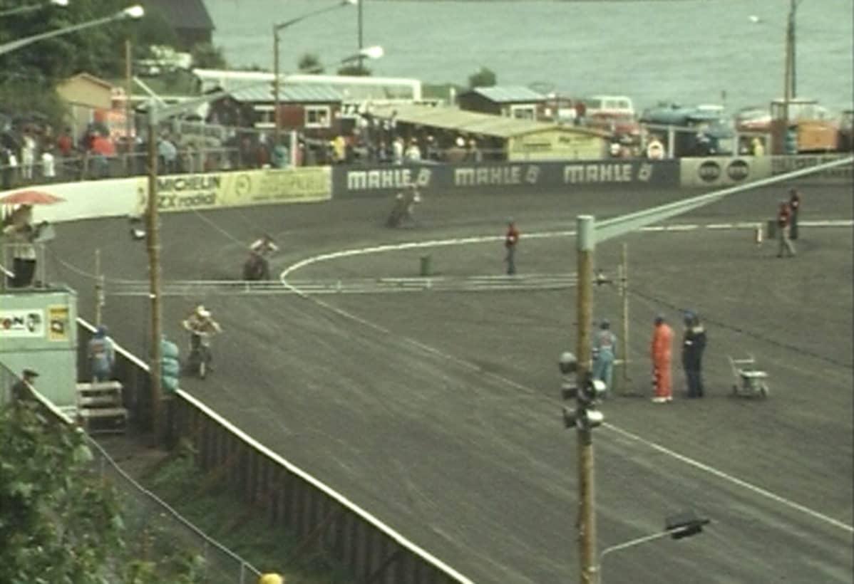 Speedwayn Skandinavian finaali 1974 Eteläpuistossa