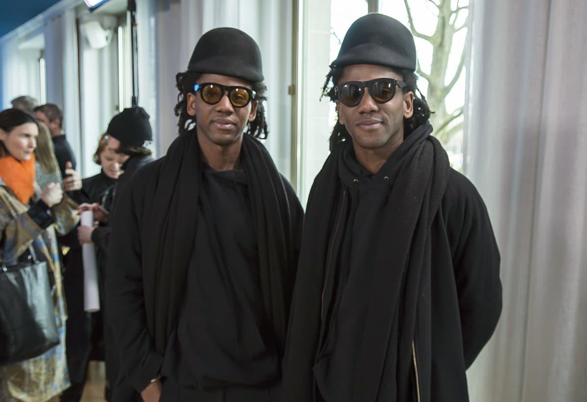 Pariisilainen dj-kaksikko Regis ja Brice Abby.