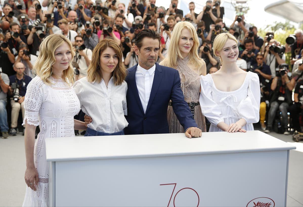 "Sofia Coppola elokuva ""The Beguiled"" Cannes."