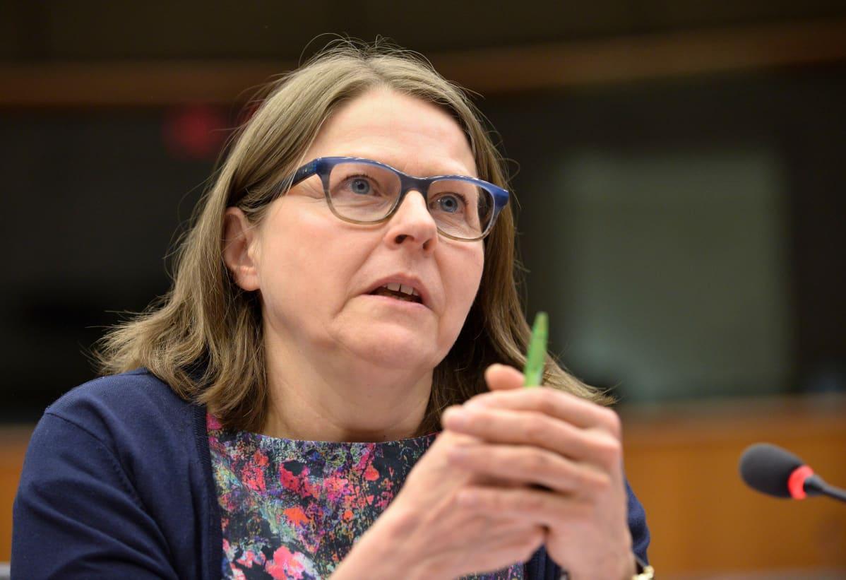 Euroopan parlamentin jäsen Heidi Hautala (vihr.).