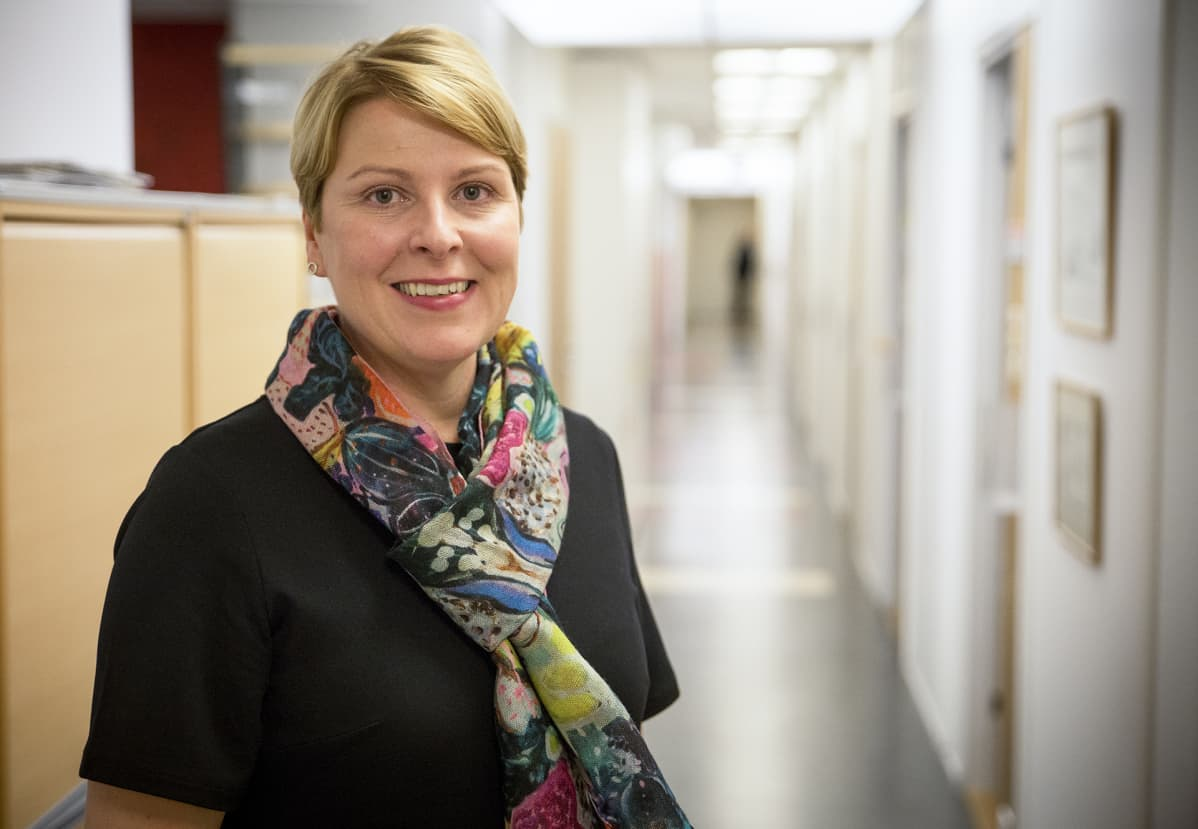 Edunvalvontajohtaja TEHY Else-Mai Kirvesniemi