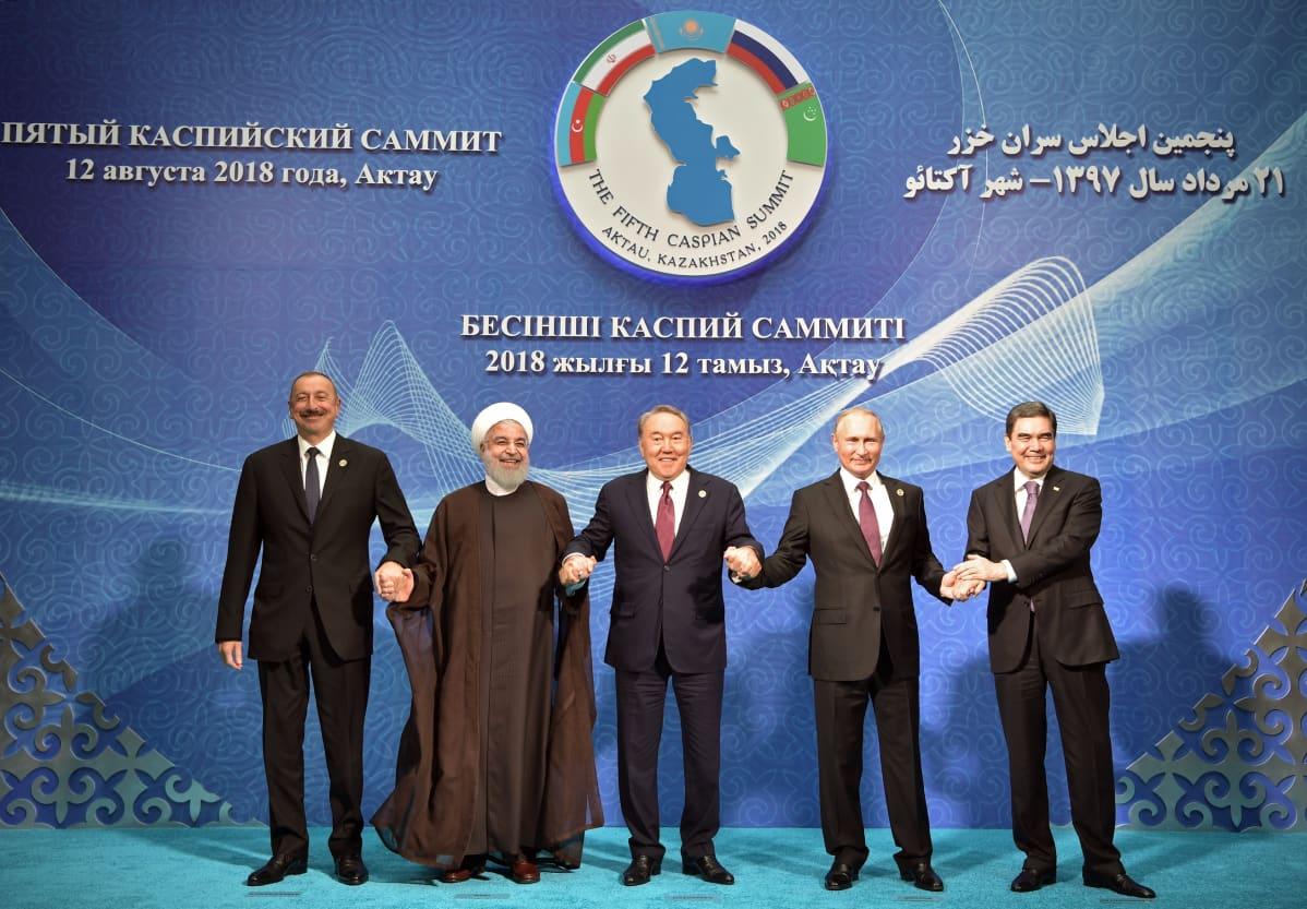 Kaspianmeren rantavaltioiden kokous