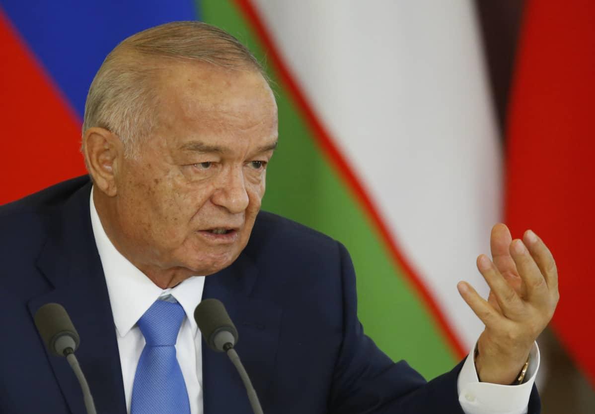 Islam Karimov tuli Uzbekistanin johtoon jo vuonna 1989.
