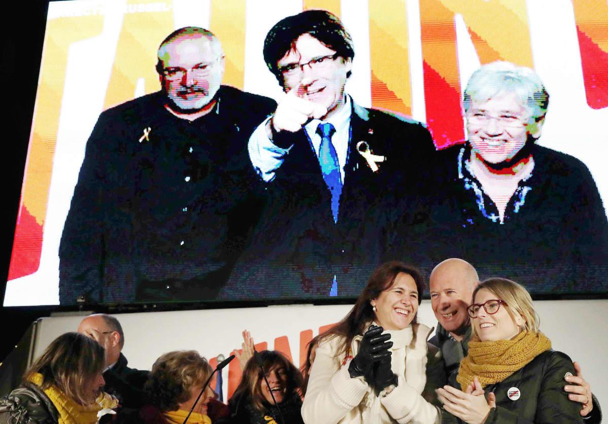 Carles Puigdemontin vaaliliitto Yhdessä Katalonian puolesta