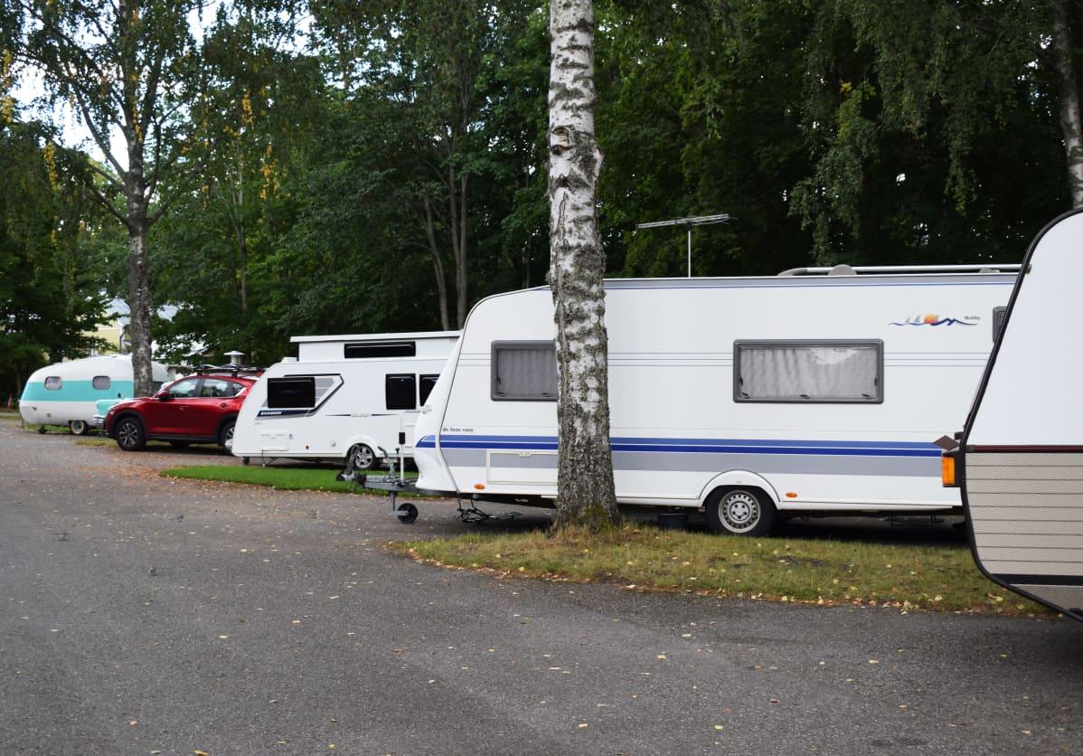 Matkailuvaunuja, Turun Ruissalo Camping