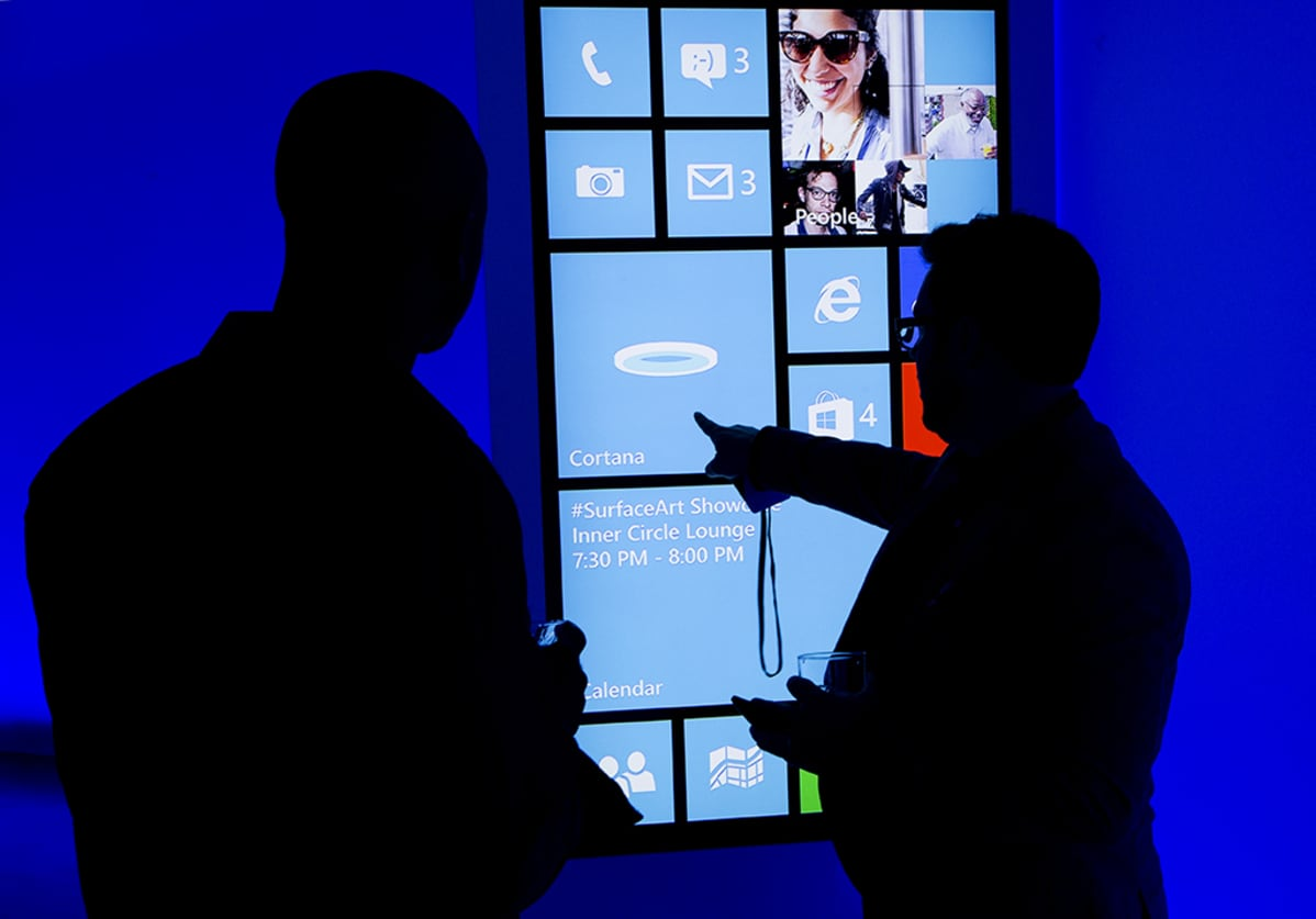 Cortana softwarea esiteltiin asiakkaille New Yorkissa 4. kesäkuuta 2014.