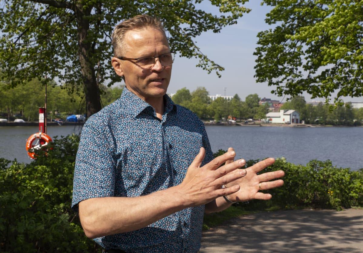 Puheenjohtaja, Matti Harjuniemi, Rakennusliitto