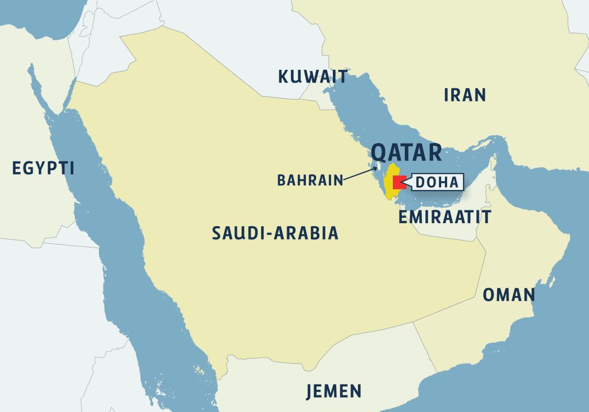 Lähi-Idän kartta