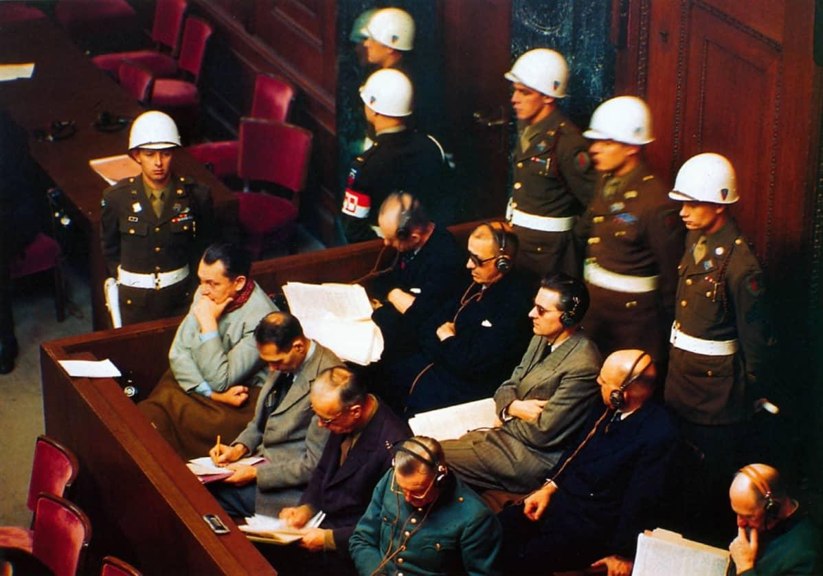 Nürnbergin oikeudenkäynnin syytettyjä
