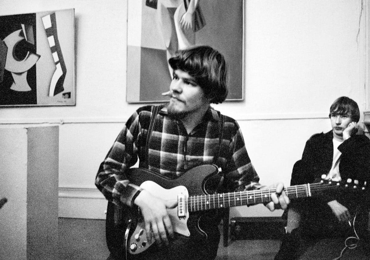 M.  A. Nummisen underground-konsertti Helsingin Taidehallissa vuonna 1968.