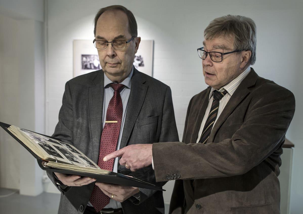 Tuomo Reikko ja Veikko Leinonen.