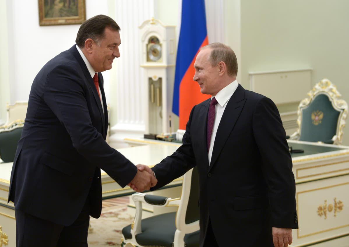 Milorad Dodik ja Vladimir Putin