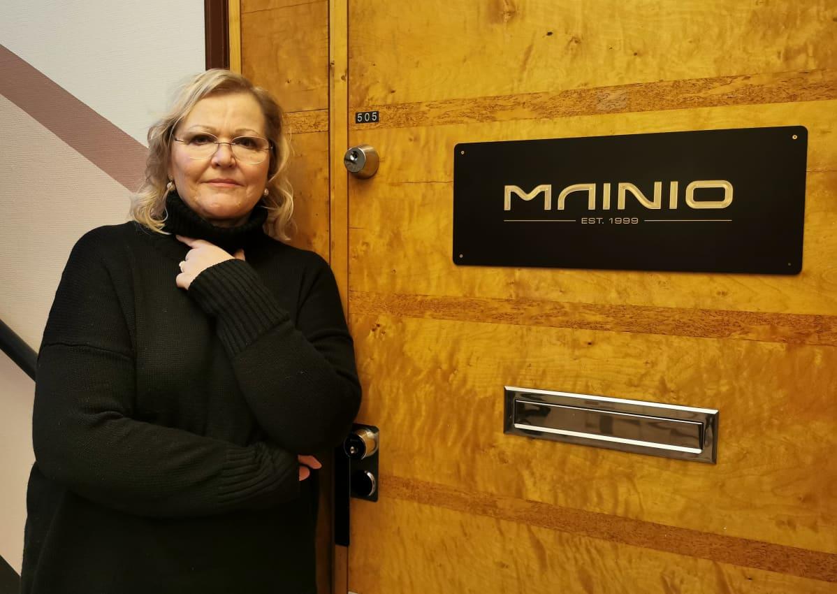 Mainostoimisto Mainion toimitusjohtaja Hannele Hyödynmaa