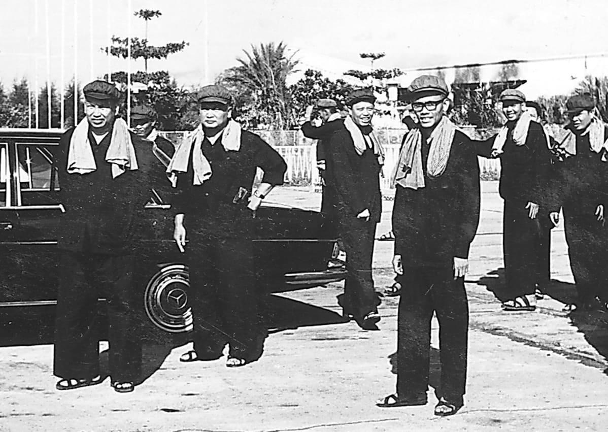 Pol Pot, Noun Chea, Ieng Sary, Son Sen