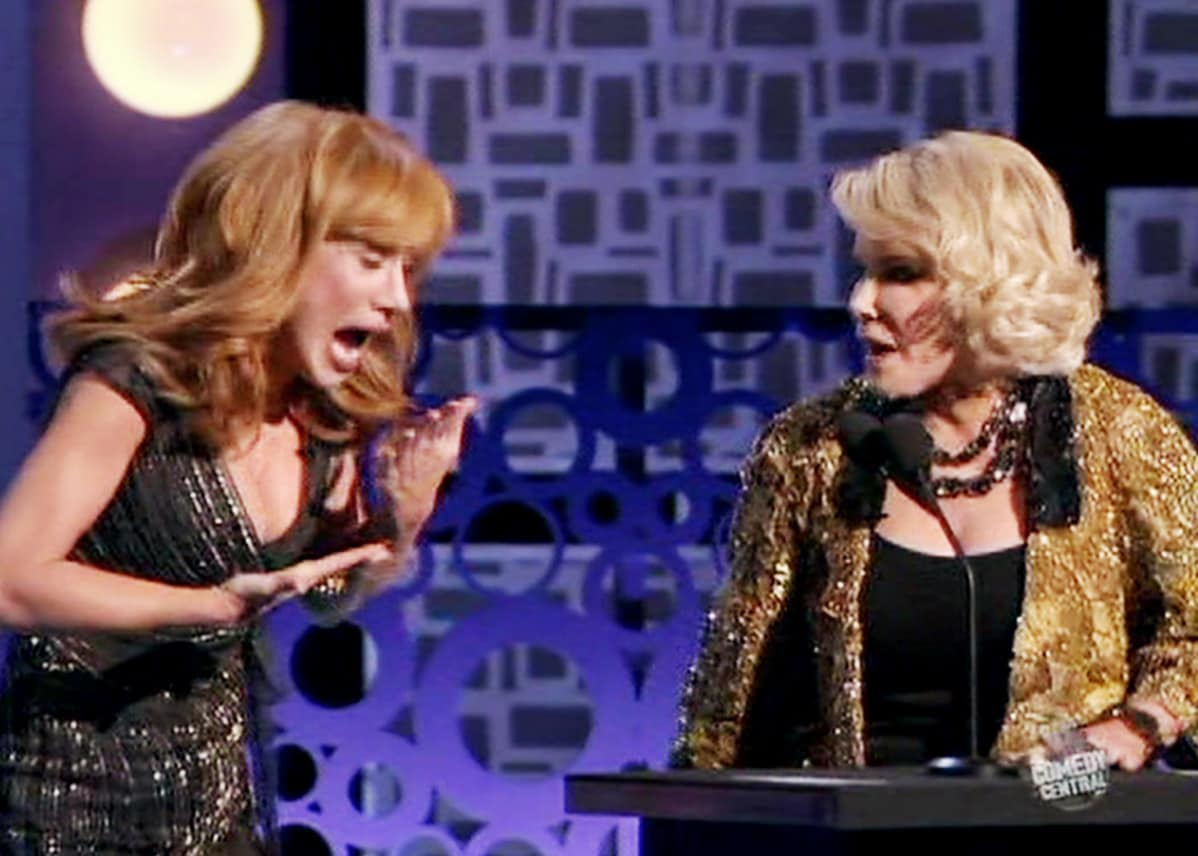 Kathy Griffin ja Joan Rivers