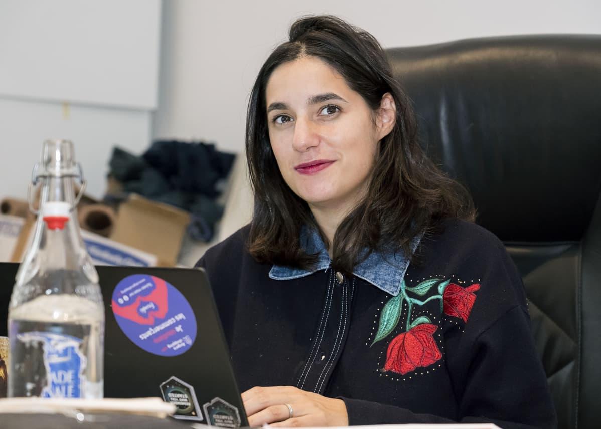 Kuvassa pariisilaisen Wishibam-yhtiön toimitusjohtaja Charlotte Journo-Baur.