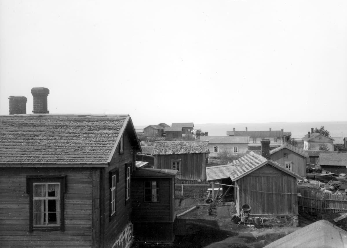 Haapasaaren rakennuksia 1912-1919