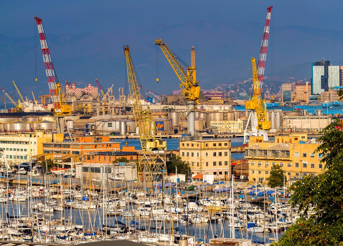 Genovan satama