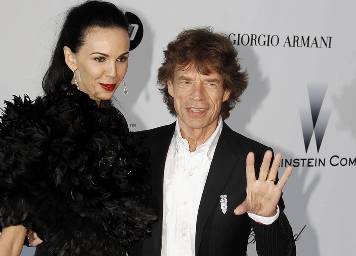 L'Wren Scott ja  Mick Jagger
