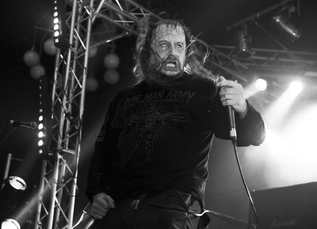 Lars Göran Petrov lavalla.