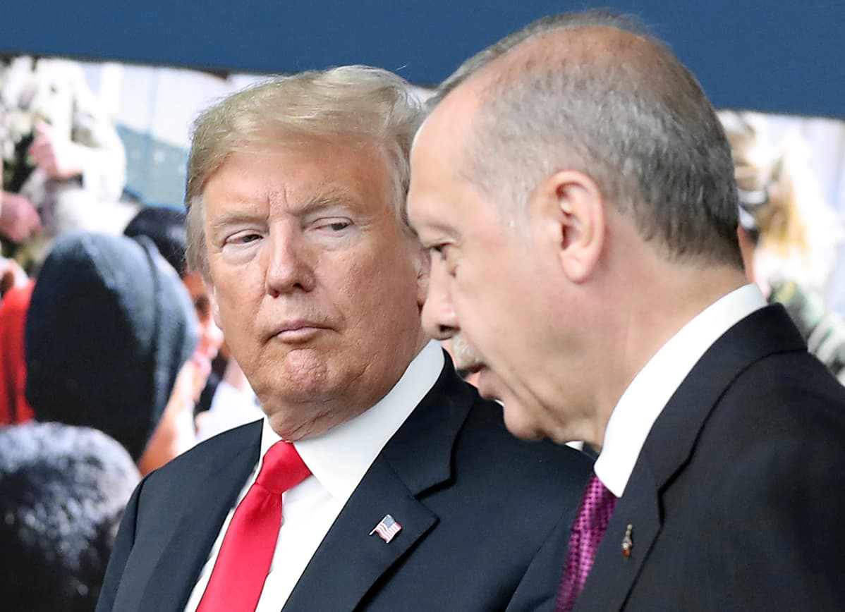 Donald Trump ja Recep Tayyip Erdoğan