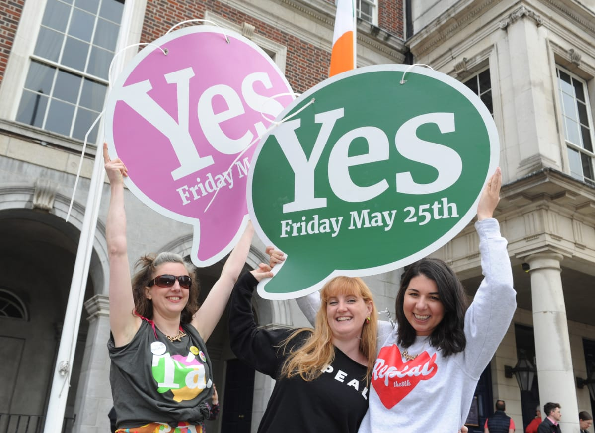 Toukokuun kansanäänestyksen tulos oli juhlan aihe.