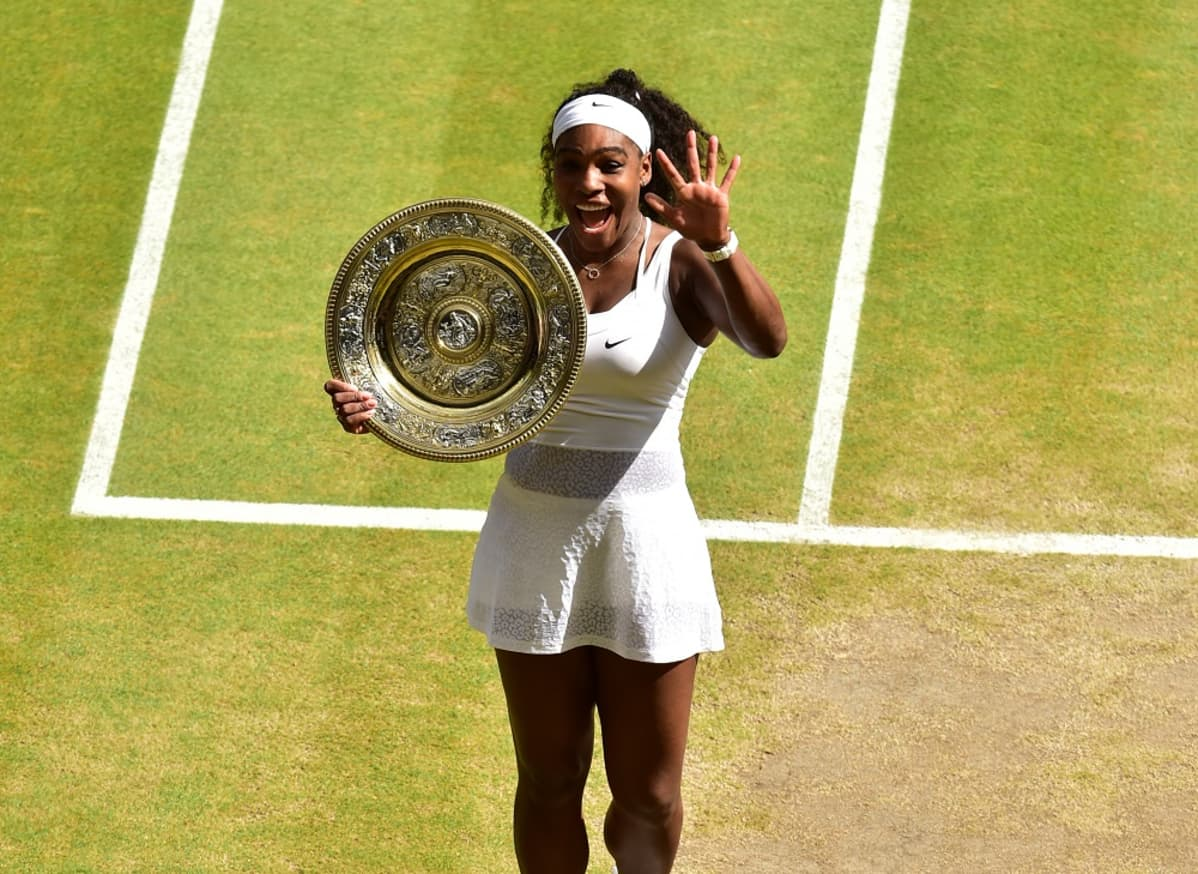 Serena Williams voitti Wimbledonin