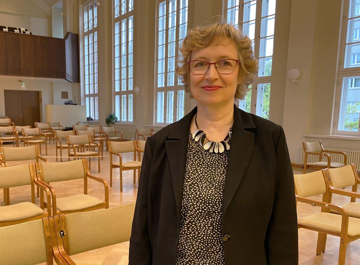 Kymi Sinfoniettan toimitusjohtaja Riikka Luostarinen