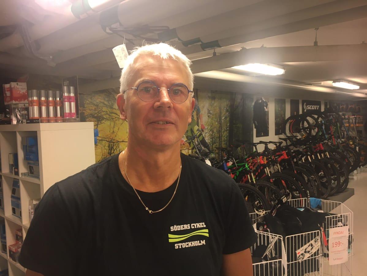 Pyöräkauppias Roger Harrfors