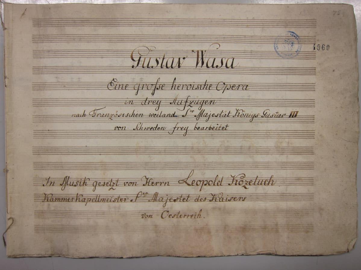 Kustaa Vaasa -ooppera