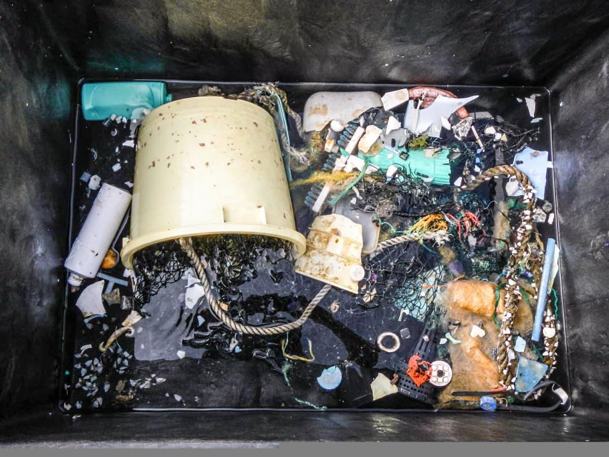 muoviroskaa