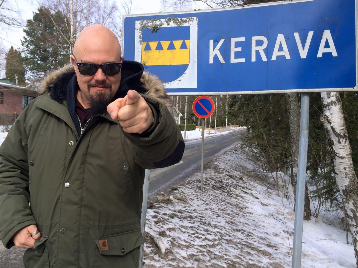 Janne Joutsenniemen luotsaama Stone sai alkunsa Keravalla.