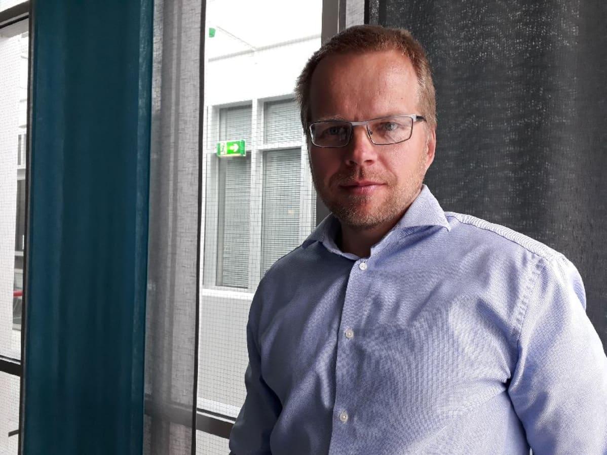 Suomen riistakeskus Pohjanmaan riistapäällikkö Mikael Luoma
