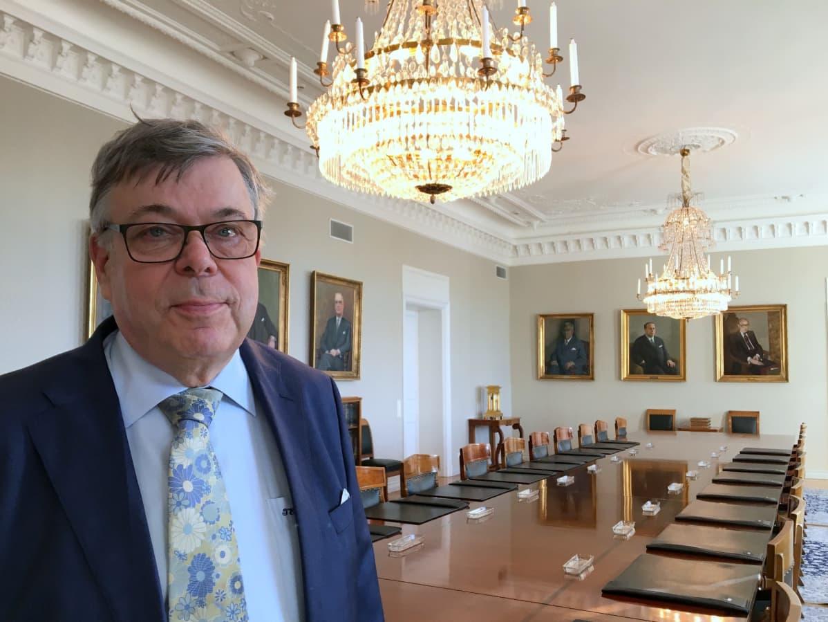 Timo Esko on toiminut korkeimman oikeuden presidenttinä vuoden 2016 alusta.