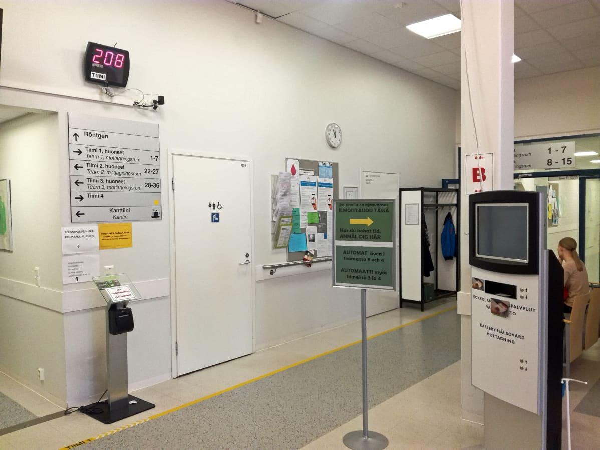 Terveyskeskuksessa Asiointi Helpottuu Kokkolassa Enaa Ei Tarvitse